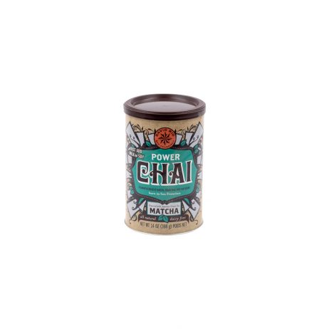Power Matcha Chai Latte