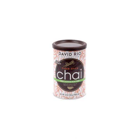 Tiger Spice Chai Latte David Rio